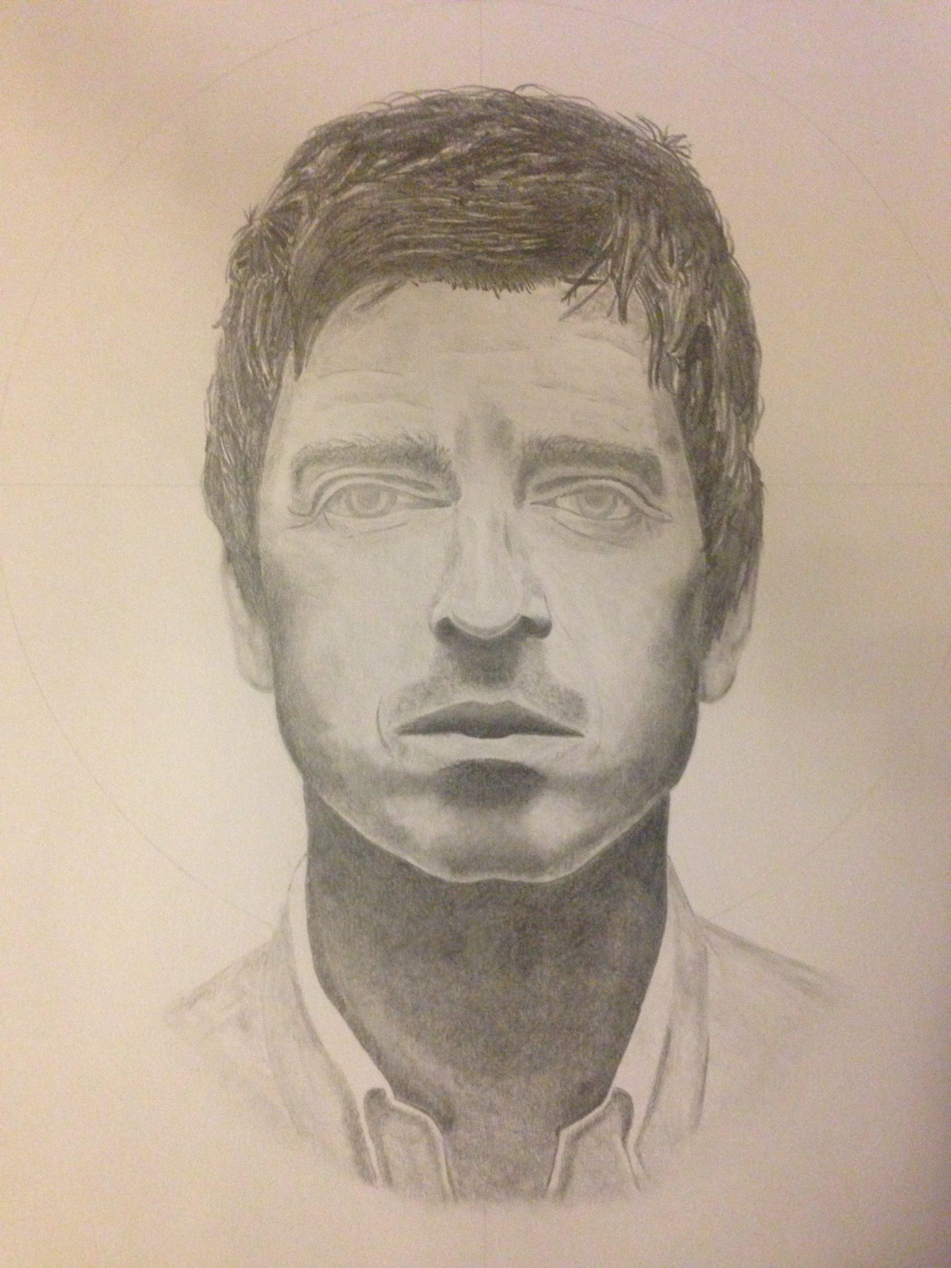 Noel Gallagher Sketch